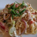 Pasta con Pollo Affumicato & Panna